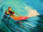 """Surfer"" closeup"