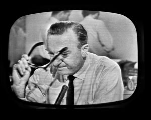 Walter Cronkite Announces Kennedy Death