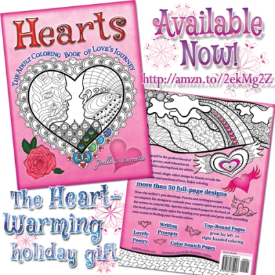 Hearts: The Adult Coloring Book of Love's Journey. http://amzn.to/2ekMg2Z