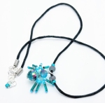 Beaded Spider Necklace(Joelle Burnette)