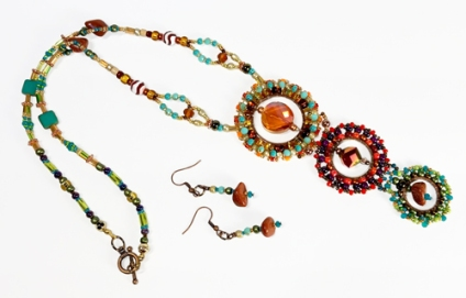 Fall Colors Necklace(Joelle Burnette)