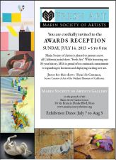 Marin Society of Artists Announcement