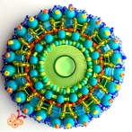 Beaded Embroidery broach(Joelle Burnette)